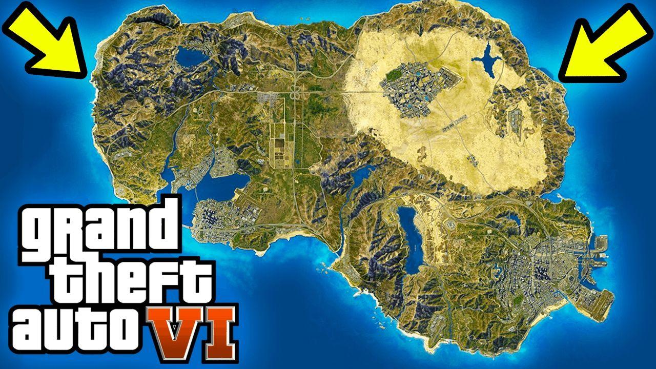 Grand Theft Auto 6 map location – TOP SECRET - GTA 6 - Grand